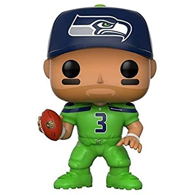 Funko POP NFL: Russell Wilson (Seahawks Color Rush) Collectible Figure: Funko Pop! Sports:: Toys & Games