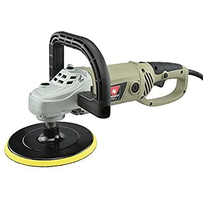 Neiko® 10671A 7-Inch Electric Polisher and Buffer   6 Variable Speeds   UL/CUL Listed