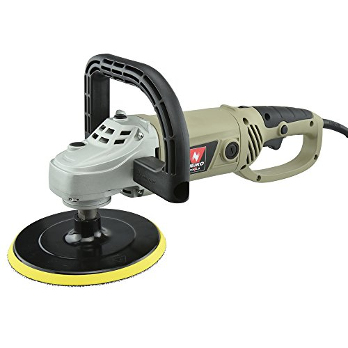 Neiko® 10671A 7-Inch Electric Polisher and Buffer | 6 Variable Speeds | UL/CUL Listed