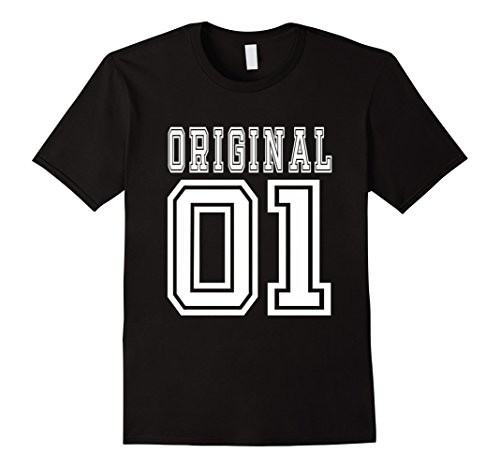 Men's 2001 T-shirt 16th Birthday Gift 16 Year Old B-day Present Medium Black