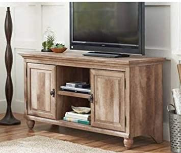 on sale 1e2e6 15981 Amazon.com: Tv Stand For 65 Inch Tv - Weathered Oak Wood ...