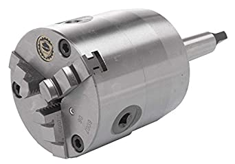 BISON 3 Jaw Self-Centering Rotating Chuck with Shank ...