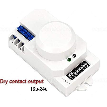 JiuRui-LED Lámpara Interruptor de luz del Sensor de microondas de ...