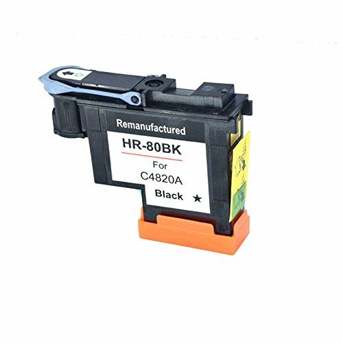 Komada for HP80 Printhead Black compatible for Hp DesignJet 1050c 1050c Plus 1055C 1055cm 1055cm Plus Printers by Komada