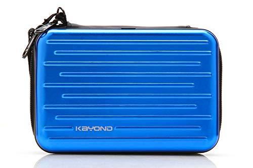Blue Aluminium Hard Back Case - 2