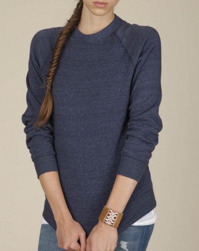 Champ Fleece Sweatshirt - Alternative  Men's Champ Eco Fleece Sweatshirt Eco True Navy Shirt