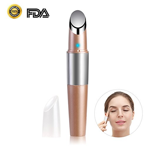 Price comparison product image Facial Massager Vibrating Ionic Heated Eye Massager Infuser - Booster Nutrition Face Tightening Lifting Anti Wrinkle Anti Aging Skin Care Devices