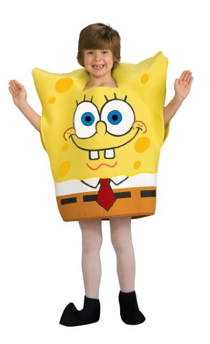 Spongebob Characters Costumes (SpongeBob Squarepants Child's Costume, Toddler)