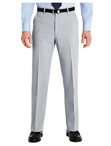 Slant Pockets Trousers (Farah Mens Slant Pocket Formal Classic Trouser Silver 46W x 27L)