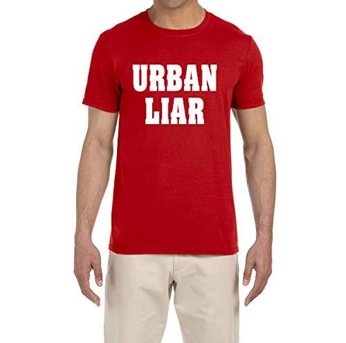 Tobin Clothing RED Urban Liar T-Shirt Adult 2XL