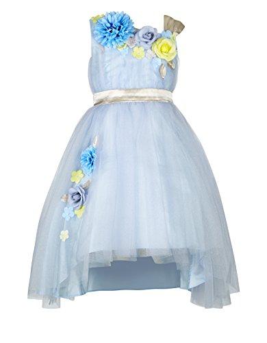 Princhar Tulle Flower Girl Dresses Short Party Kids Dress...