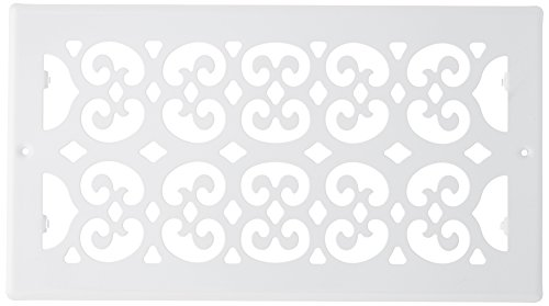 Return Wh Air (Decor Grates S612R-WH 6-Inch by 12-Inch Painted Return Air, White)