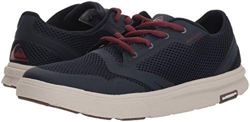 Pictures of Quiksilver Men's Amphibian Plus Water Shoe Blue Red Grey 4
