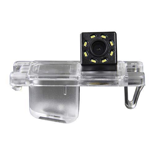HD 720p Rear View Back Up Reverse Parking Camera in License Plate Waterproof Night Version (NTSC) for Mitsubishi Triton L200 Hunter Sportero Strada Pajero Montero (B=83x38 mm)