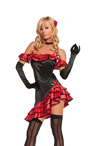 Spanish Lolita costume Teen size Junior (Dead Dancer Halloween Costume)