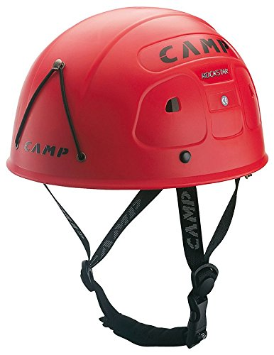 CAMP Rock Star Climbing Helmet - Red by Camp