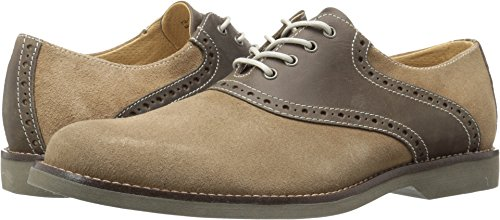 G.H. Bass & Co. Men's Parker Oxford, Taupe/Chocolate, 12 M ()