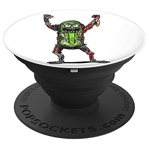 Rick and Morty - Pickle Rick Pop - PopSockets Grip and Stand for Phones and Tablets