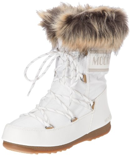 Snow Winter Waterproof Original Low Boot Moon Boots Rain Monaco White Womens Tecnica q0YaZZ