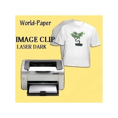 Neenah IMAGE CLIP LASER Dark Transfer Paper For Laser Printers 50 Sheets by Neenah