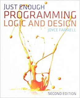 Book Bundle: Just Enough Programming Logic and Design, 2nd + A Guide to Working With Visual Logic + Visual Logic Software Printed Access Card
