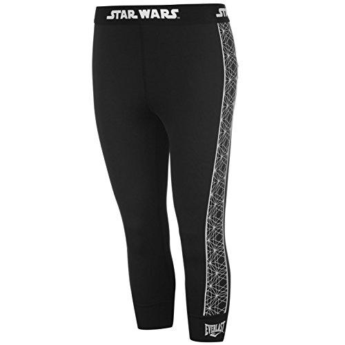 Everlast Womens Star Wars Capri Pants Tights Trousers Activewear Print Workout Star Wars 14 (L) (Capri Everlast)