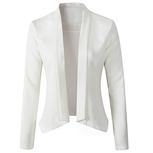 White Dress Coat - 3