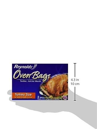 Kosher Reynolds Oven Bags Turkey Size 2 Bag