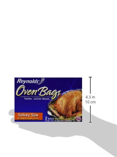 Reynolds Oven Bags, Turkey Size 2-Count (Pack of 6)