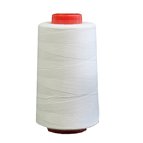 white thread for sewing machine - 7