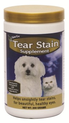 "Brand New GARMON CORPORATION/NATURVET - TEAR STAIN SUPPLEMENT POWDER (200 GM) ""DOG PRODUCTS - DOG HEALTH - VITAMINS & SUPP"""