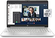 HP 15-inch FHD Laptop, 10th Gen Intel Core i5-1035G1, 8 GB RAM, 256 GB Solid-State Drive, Windows 10 Home (15-