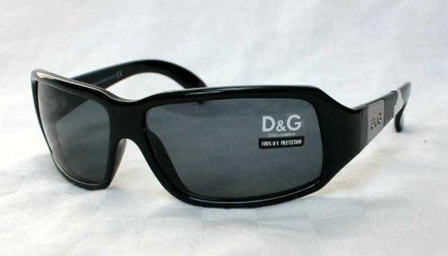 Dolce & Gabbana D&G - Gafas de sol DG 2074 338 Negro: Amazon ...