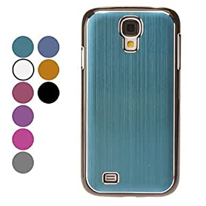 Simple Design Hard Case for Samsung Galaxy S4 I9500 (Assorted Colors) --- COLOR:Gray