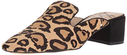 Nude Adair Edelman Women's Leopard New Sam Mule Razn0xFOO