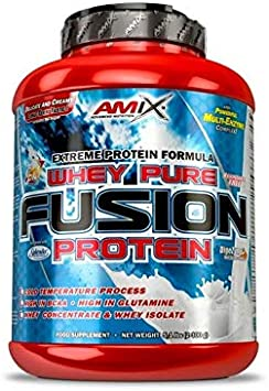 Oferta amazon: Amix Whey Pure Fusion 2,3 Kg Cacahuete-Choco-Caremelo 2300 g