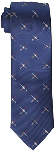 Star Wars Men's Lightsaber Duel Tie, Navy, One Size]()