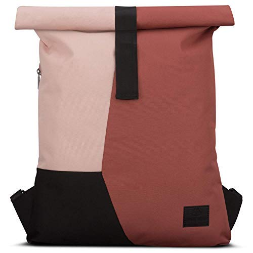 Backpack Roll Top Red/Pink JOHNNY URBAN