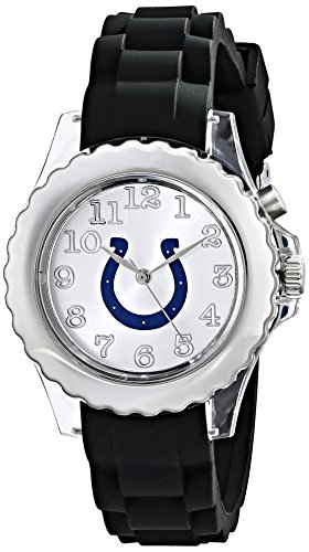 "Game Time Youth NFL-FLB-IND""Flash Black"" Watch - Indianapolis Colts"