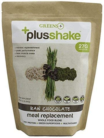 Greens PlusShake Chocolate 27g Protein 1.5 lb Bag