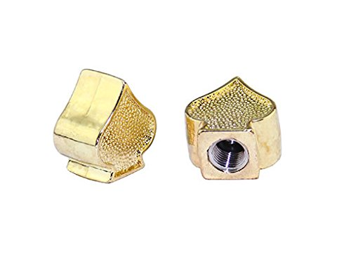 Lowrider SPADE BIKE BICYCLE VALVE CAP GOLD. Schrader/Valve. bike part, bicycle part, bike accessory, bicycle accessory