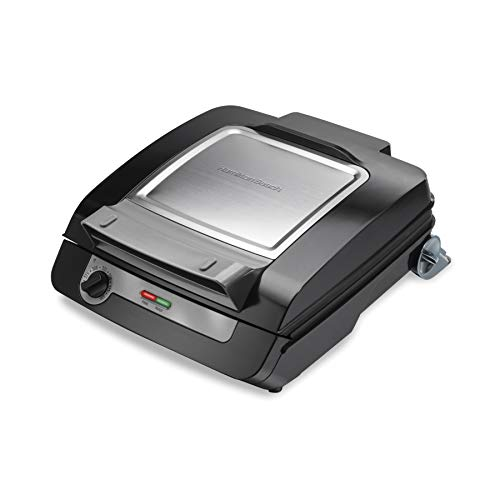 Hamilton Beach 25601 Electric Multi Grill Black and Silver