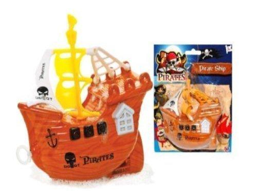 Pull String Pirate Ship - Bath Toy - Kids Pirate Toy [Toy] [並行輸入品]   B01K1US8U2