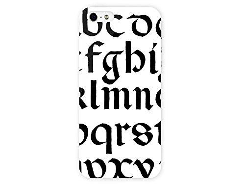 Amazon.com: Covered Case for iPhone 5/5S GothlcAlphabat Gothic ...