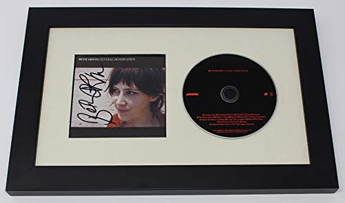- Beth Orton Central Reservation Signed Autographed Music Cd Insert Compact Disc Framed Display Loa