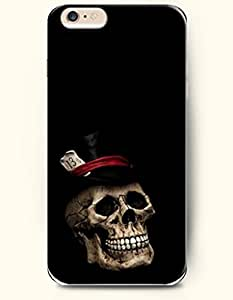 OOFIT iPhone 6 Case ( 4.7 Inches ) - Skull with a Hat