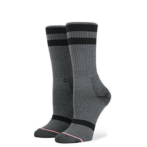 Stance Women's Classic Uncommon Crew Sock, Black, Small by Stance