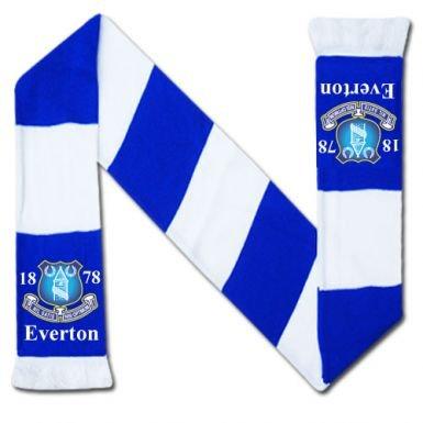 Everton FC Crest Bar Scarf