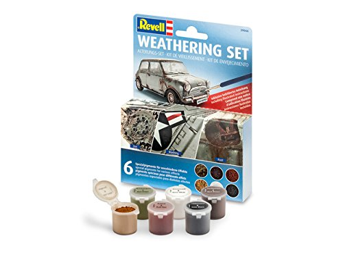 - Revell 39066 Weathering Set with 6 Pigments