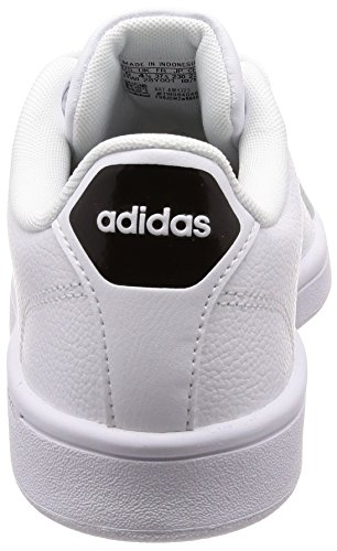 White Core White Trainers adidas Advantage Ftwr White Cloudfoam Clean Women's Ftwr Black Off 6PqAY